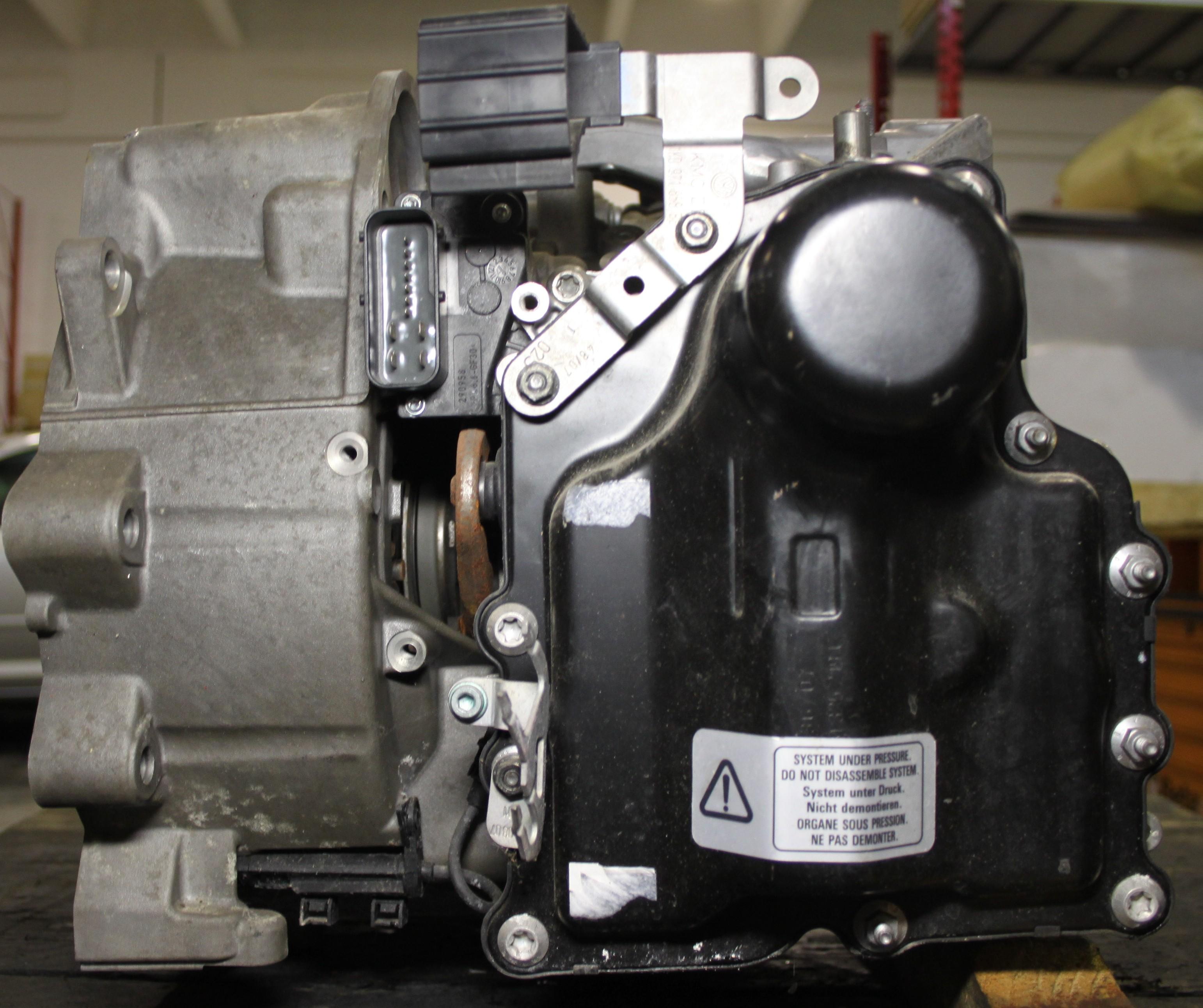 Avarie alla meccatronica dsg 7 marce notiziario motoristico - Dsg 7 marce bagno d olio ...