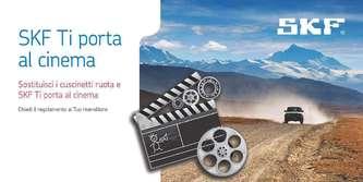 Skf ti porta al cinema con i suoi kit cuscinetti ruota - Sky ti porta al cinema ...
