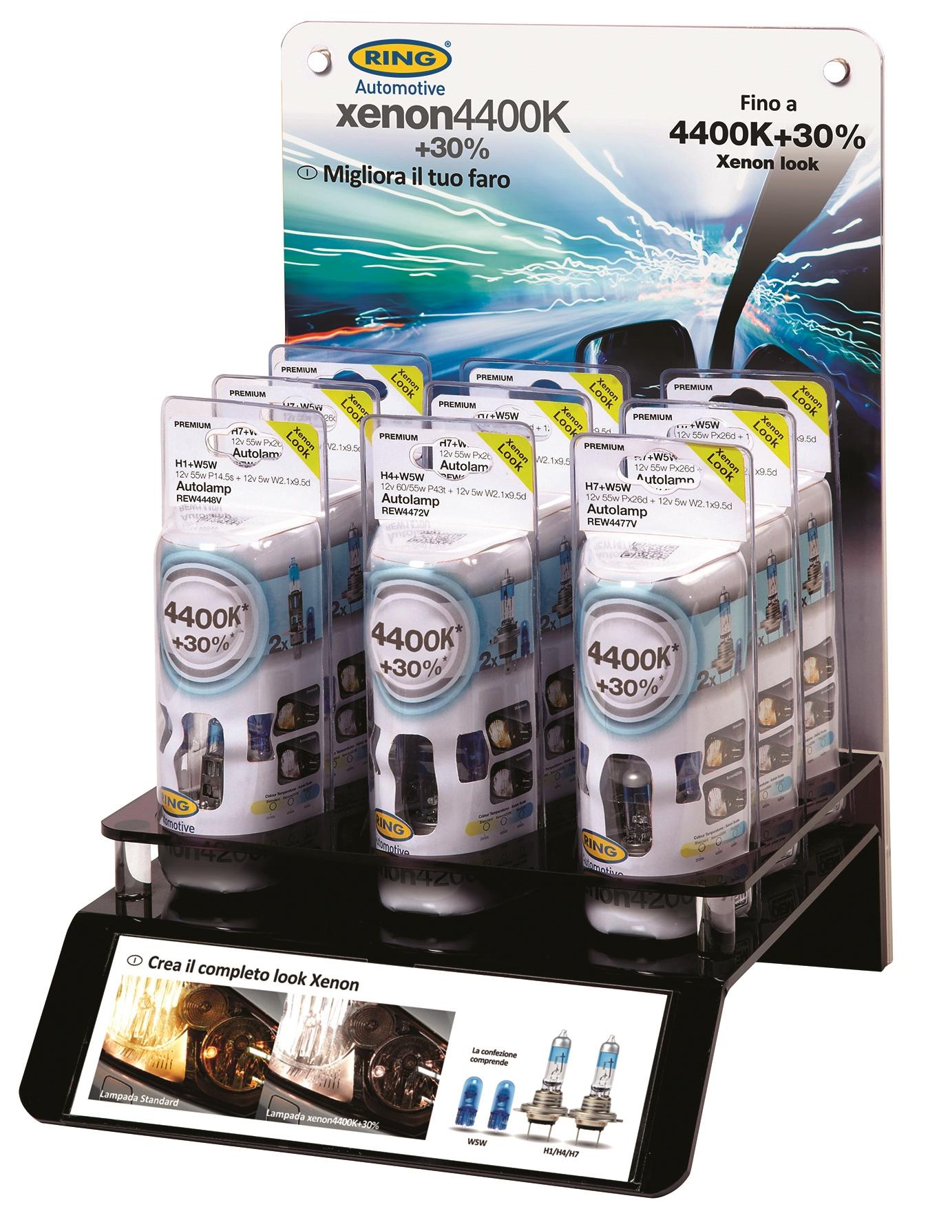 Ring nuove lampadine xenon 4400 30 notiziario motoristico - Le nuove lampadine ...